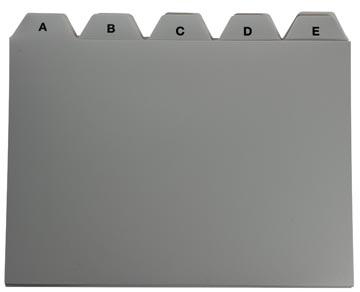5Star Tabbladen voor systeemkaartenbakken ft A6