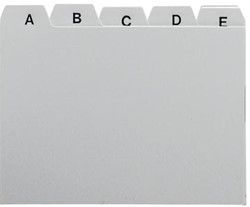 5Star Tabbladen voor systeemkaartenbakken ft A7