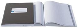 Jalema kasboeken 2 x 1 kolom, kleur: blauw