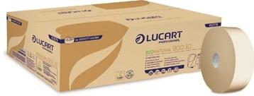 Lucart Professional toiletpapier jumbo EcoNatural 900 Id pak van 12 rollen