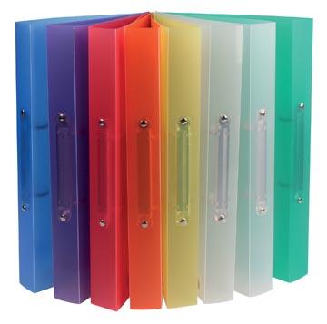 Class'ex ringband geassorteerde kleuren: blauw, geel, groen, rood en transparant