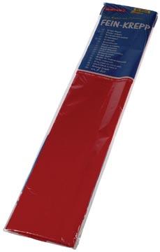 Folia crêpepapier rood
