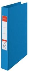 A4 ringmap Esselte Vivida met 2 ringen van 25 mm in blauw