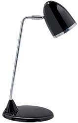 Maul bureaulamp met spaarlamp zwart