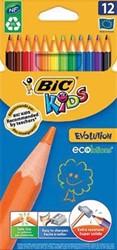 Bic Kids kleurpotlood Ecolutions Evolution 12 potloden