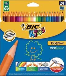 Bic Kids kleurpotlood Ecolutions Evolution 24 potloden
