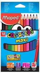 Maped driehoekig kleurpotlood Color'Peps Maxi