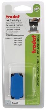 Trodat vervangkussen blauw, voor stempel 4911/4820/4822/4846