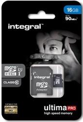 Integral UltimaPro X microSDHC geheugenkaart, klasse 10, 16 GB