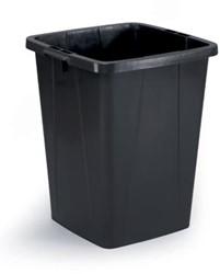 Durable afvalbak DURABIN 90L zwart