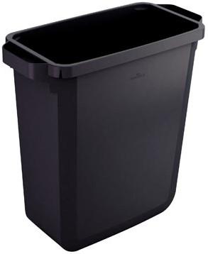 Vuilnismand Durable DURABIN 60 liter zwart