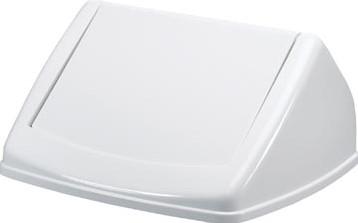 Deksel Fliplid voor Durable DURABIN vuilnisbak 40 liter wit