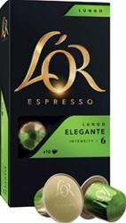 Douwe Egberts capsules voor espressomachines L'Or, Lungo Elegante, pak van 20 capsules