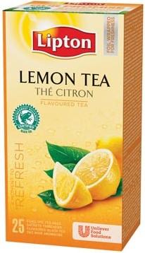 Lipton citroen prof thee 25 zakjes
