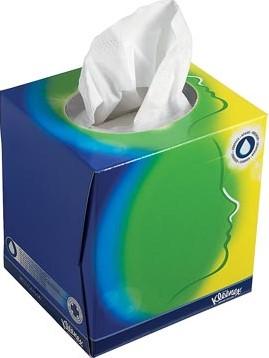 Kleenex gezichts tissues doos van 56 tissues