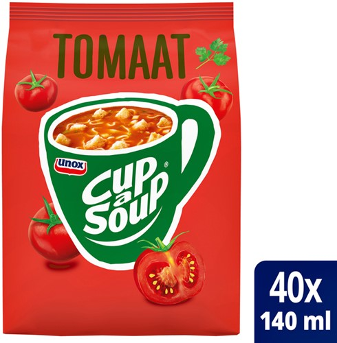 Cup-a-soup zakken tomaat met 40 porties