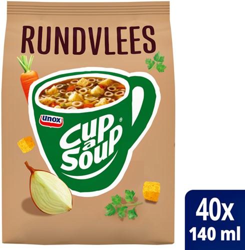 Cup-a-soup grootverpakking rundvlees met 40 porties