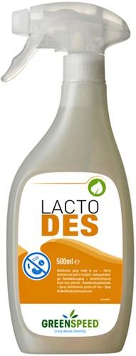 Desinfecterende spray op basis van melkzuur Greenspeed Lacto Des