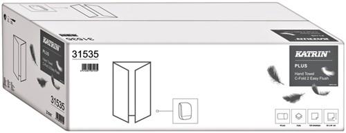 Handdoek Katrin C-Fold 31535 2laags 24x33cm 18x125st