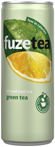FuzeTea Green Tea blik 0.25l