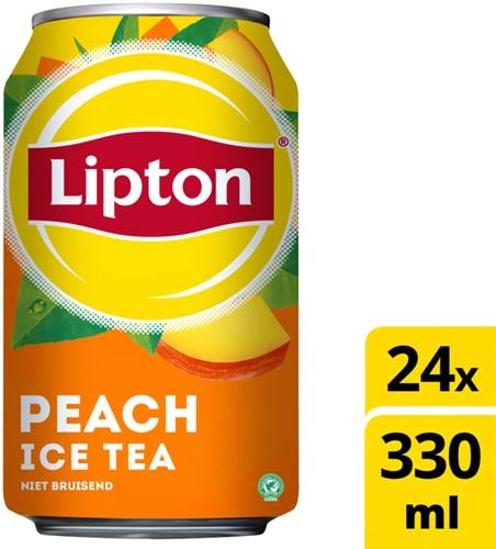 Lipton Ice Tea Peach blik 0.33l