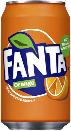 Fanta Orange blik 0.33l