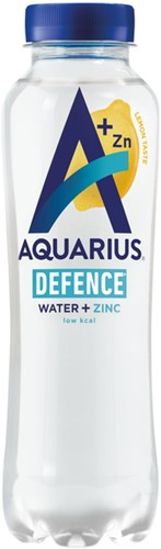 Aquarius Hydration Lemon fles 0.40l