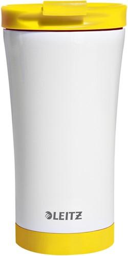 Leitz WOW Thermos koffiebeker inhoud 380 ml geel