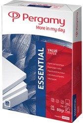 Kopieerpapier A4 Pergamy Essential  80 gram pak van 500 vel