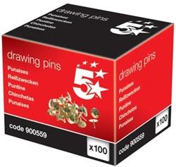 5Star Punaises doos van 100 stuks