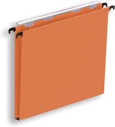 Pergamy hangmap voor laden, ft A4 (tussenafstand 330 mm), bodem 15 mm, oranje, pak van 25 stuks