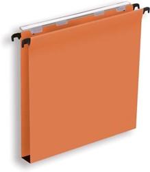 Pergamy hangmap voor laden, ft A4 (tussenafstand 330 mm), bodem 30 mm, oranje, pak van 25 stuks