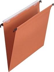 Pergamy hangmap voor laden, ft foolscap (tussenafstand 390 mm), V-bodem, oranje, pak van 25 stuks