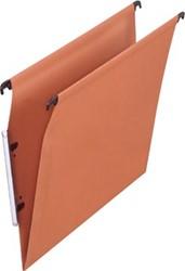 Pergamy hangmap voor kasten, ft A4 (tussenafstand 330 mm), V-bodem, oranje, pak van 25 stuks