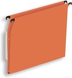 Pergamy hangmap voor kasten, ft A4 (tussenafstand 330 mm), bodem 15 mm, oranje, pak van 25 stuks