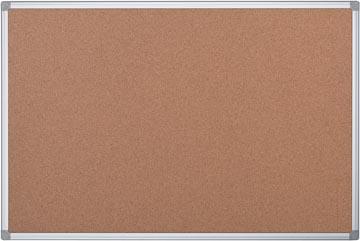 Prikbord kurk met aluminium frame  120 x 90 cm