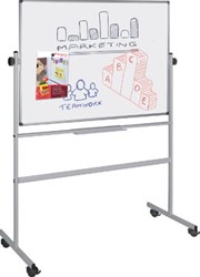 Pergamy Excellence emaille magnetisch kantelbord ft 120 x 90 cm