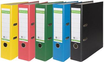 A4 ordner Recycolor papier rug van 8 cm geassorteerde kleuren Pergamy