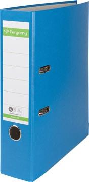 A4 ordner Recycolor papier rug van 8 cm blauw Pergamy