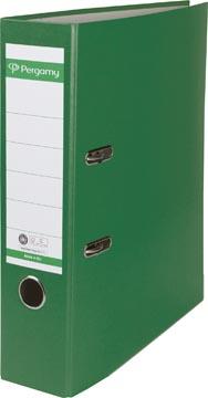 A4 ordner Recycolor papier rug van 8 cm groen Pergamy