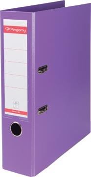 Ordner 2 rings PP A4 rug 8mm violet