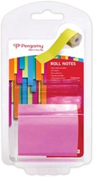 Pergamy Roll notes, ft 10 m x 50 mm, neon roze