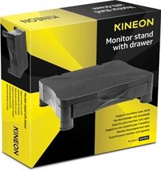 Kineon monitorstandaard met lade zwart