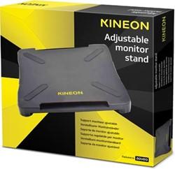 Kineon verstelbare monitorstandaard zwart