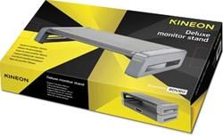 Kineon deluxe monitorstandaard grijs / zwart