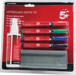 5Star starterkit voor whiteboards