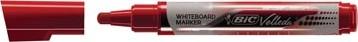 Whiteboard markers Bic Velleda Liquid Ink rood
