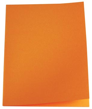 5Star Vouwmap folio oranje