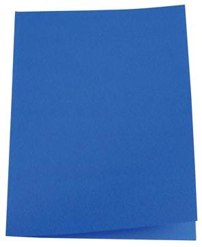 5Star Vouwmap folio donkerblauw