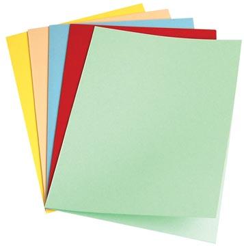 5Star Vouwmap folio geassorteerde kleuren
